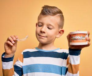 Ortodoncia invisible en niños