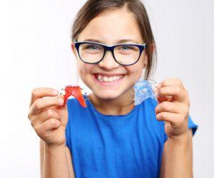 Aparatos dentales niños